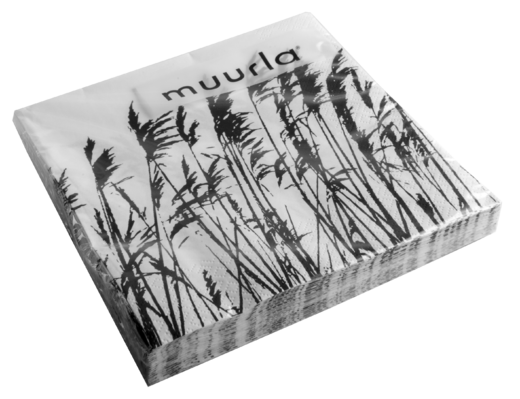 Nordic coffee napkin, 25x25cm, The Reeds