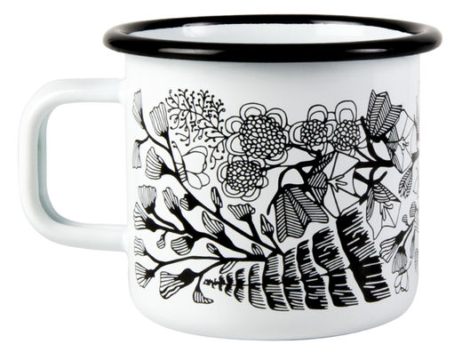 Wild Meadow enamel mug, 3,7dl