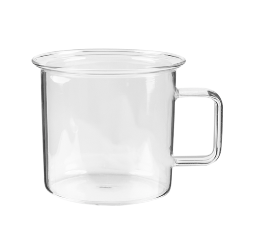 Glass Mug clear 3,5dl