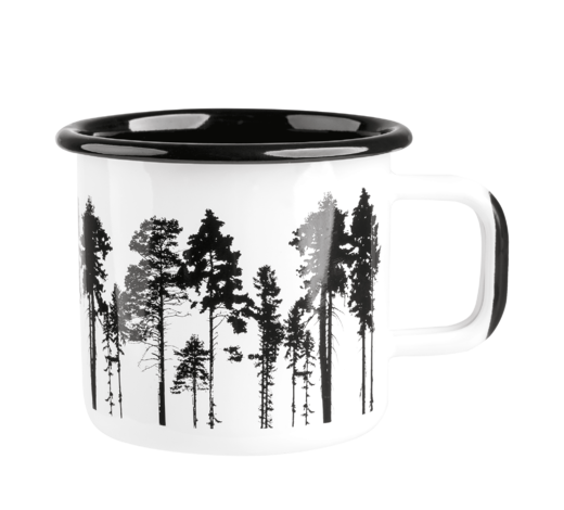 Nordic Enamel Mug The Forest 3,7dl