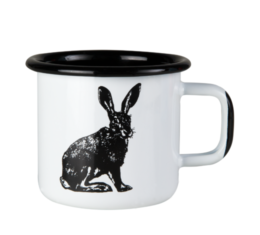Nordic Enamel Mug The Hare 3,7dl