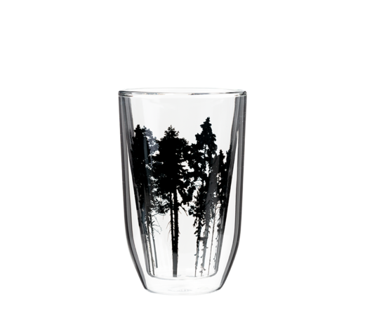 Nordic Glass for hot drinks The Forest 3dl