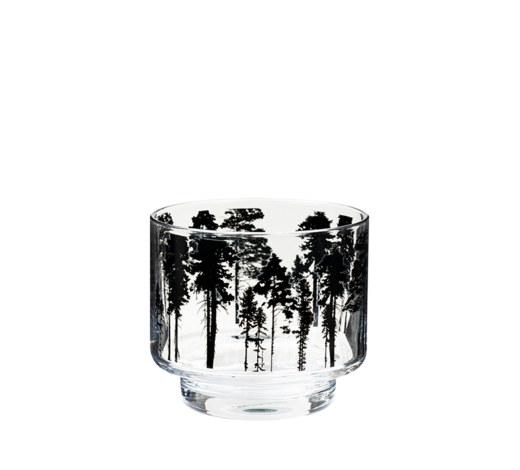 Nordic Candle Holder/Jar The Forest 8cm