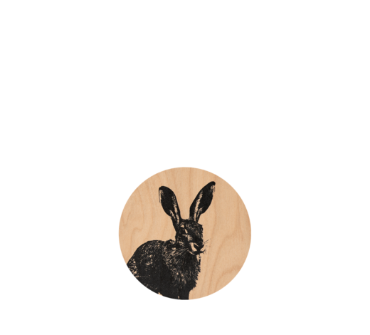 Nordic Coaster The Hare 10cm