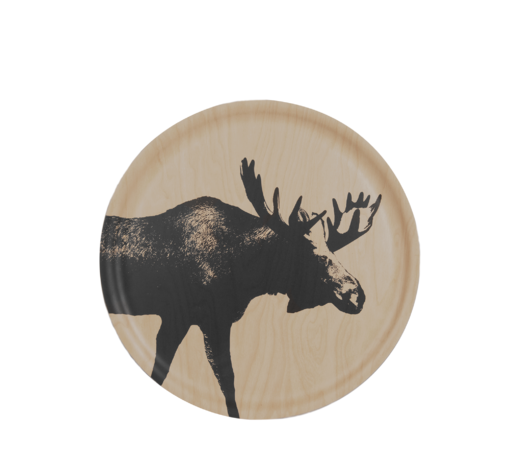 Nordic Tray The Moose 35cm