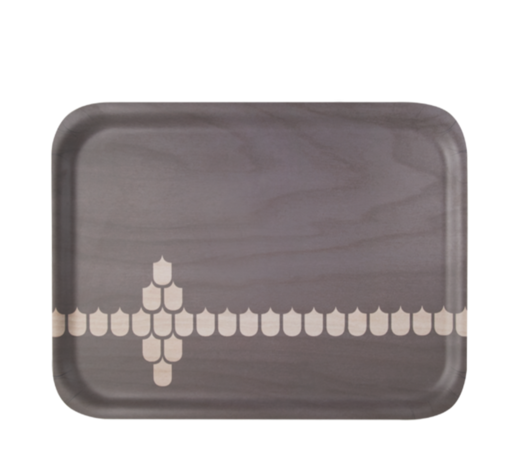 Kitchen series with Vappu Tray grey 43x32cm